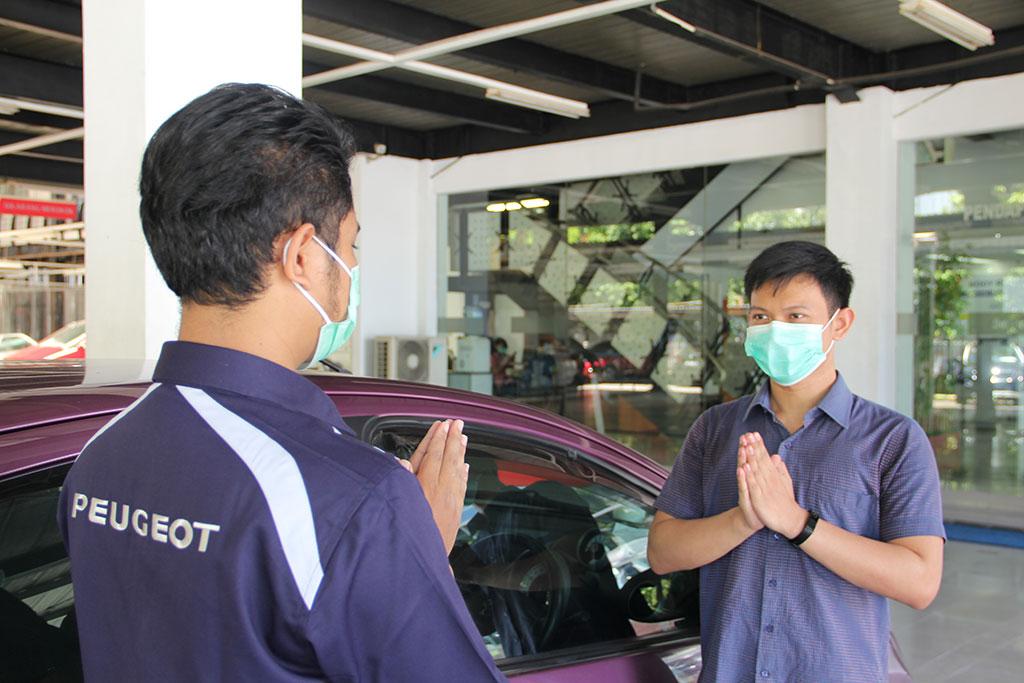 Bengkel Astra Peugeot Jalankan Protokol Kesehatan New Normal