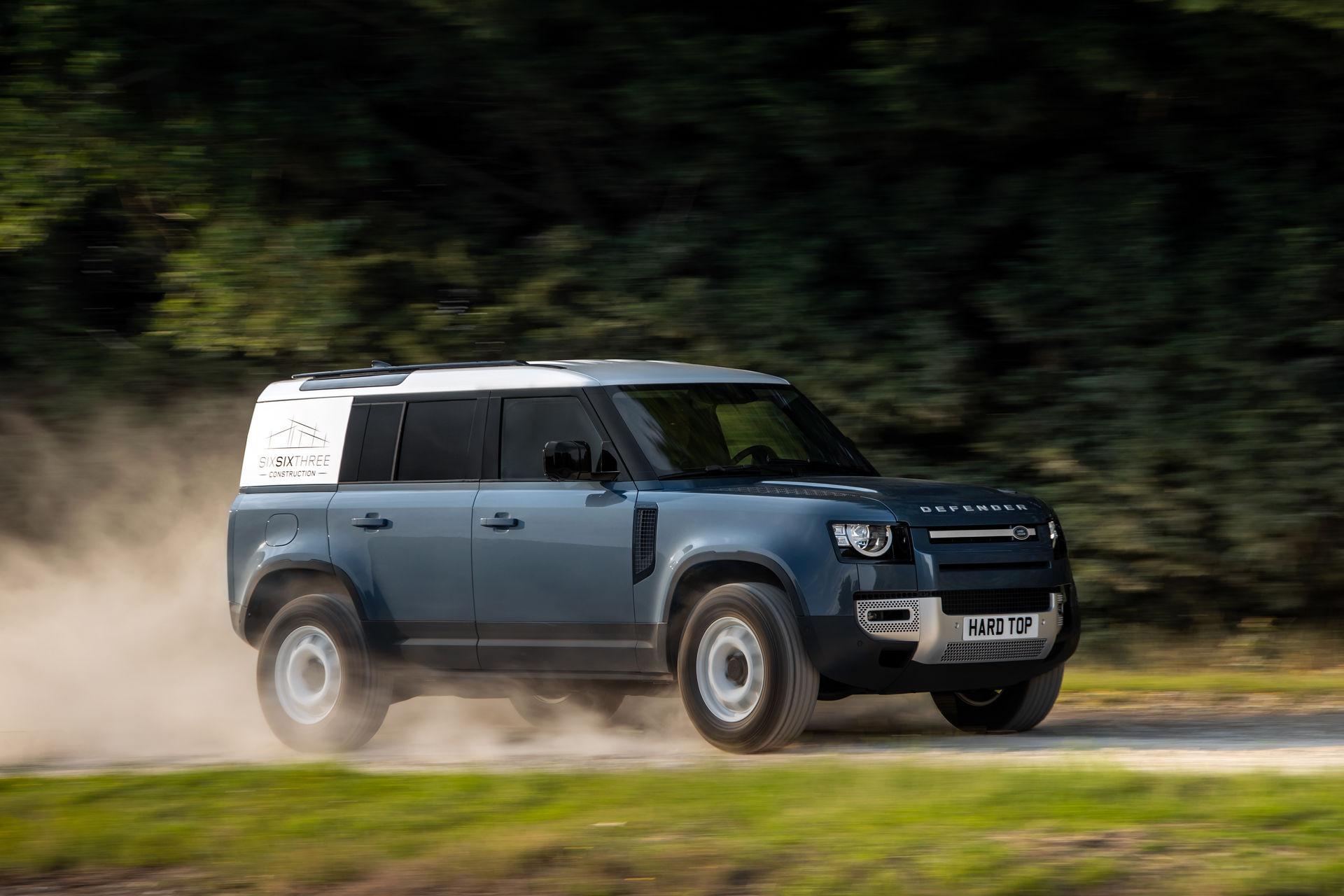 Land Rover Defender Hard Top, Varian Istimewa Khusus Angkut Barang