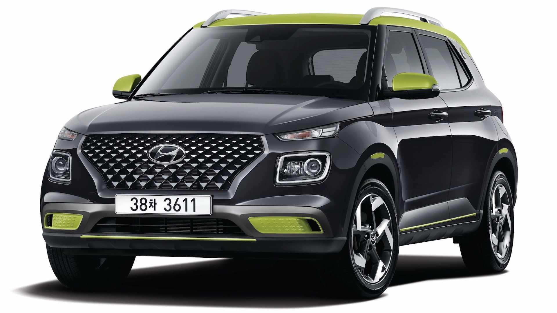 Hyundai Tambah Sentuhan Dual Tone Pada Hyundai Venue