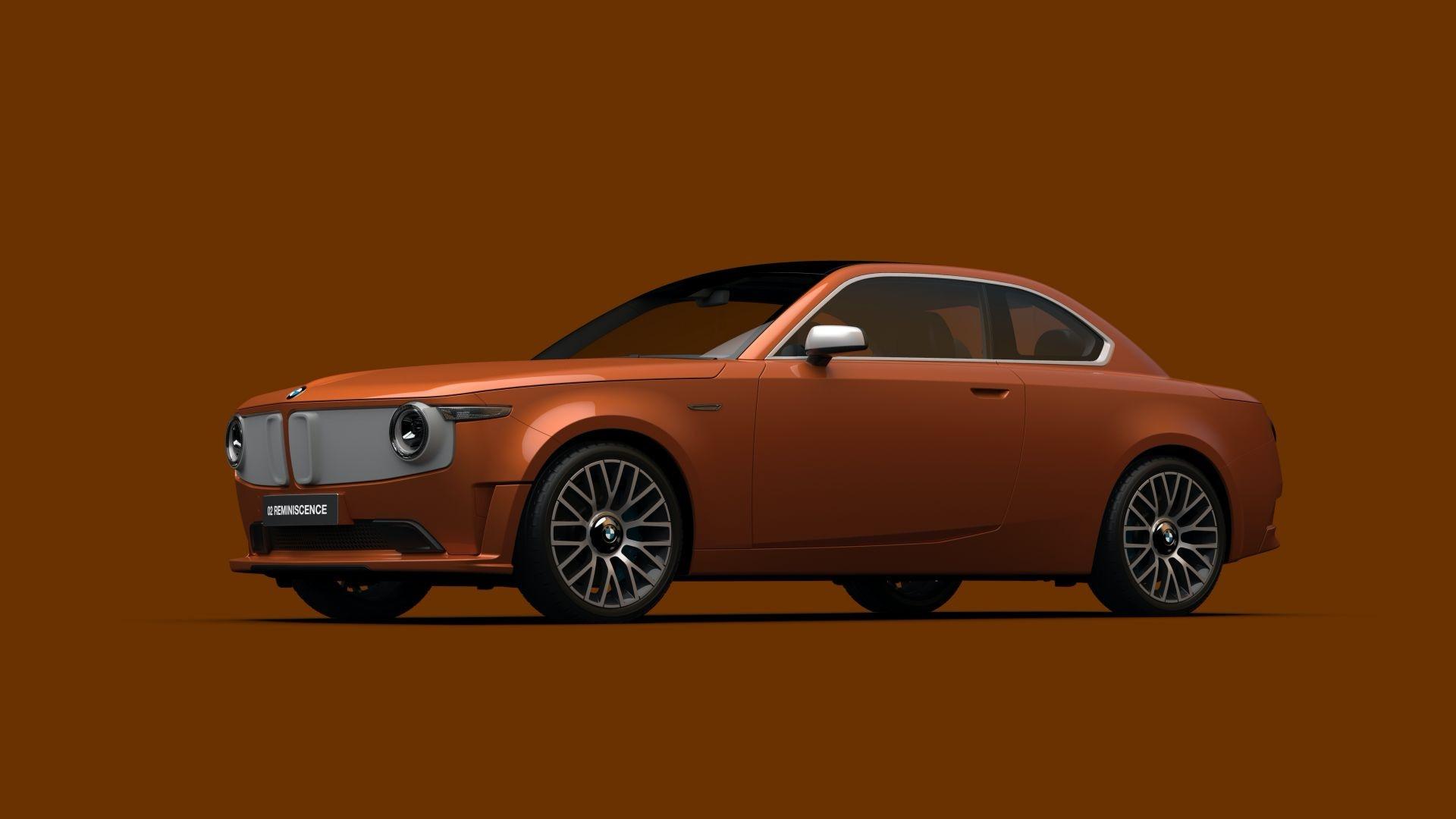 Begini Desain Mobil Listrik Masa Depan BMW Bergaya Retro