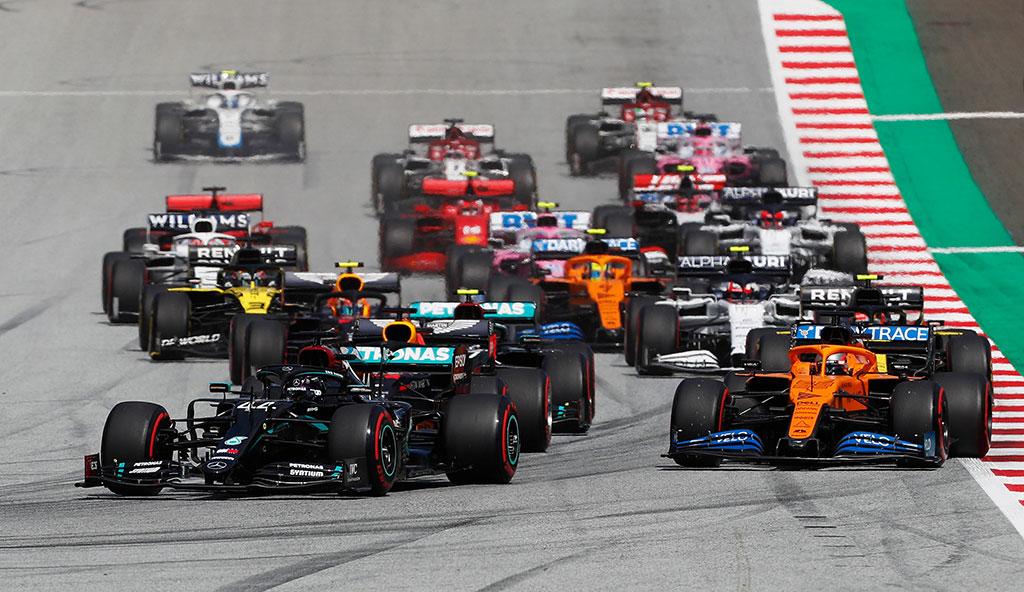 F1: Hamilton Pimpin Mercedes 1-2 GP Styria, Duo Ferrari Tabrakan