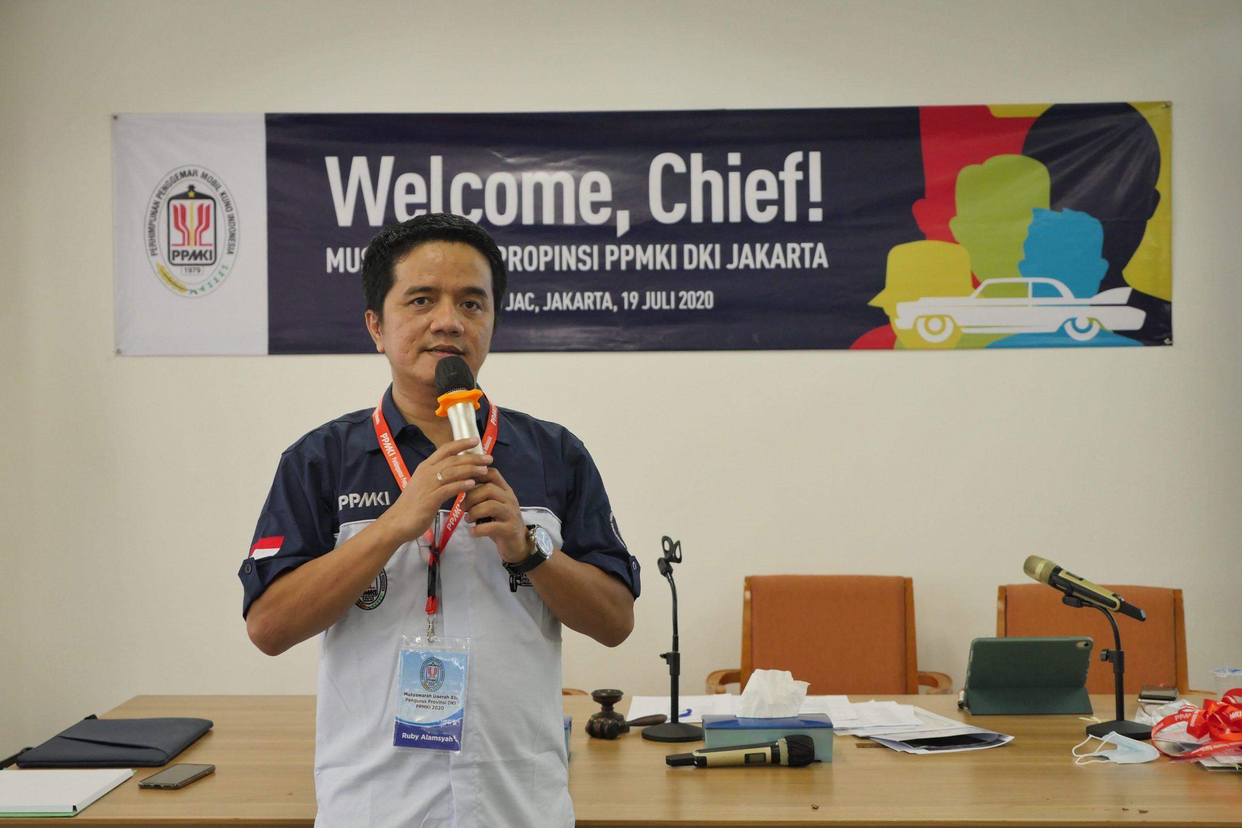 Ruby Alamsyah Terpilih Jadi Ketua PPMKI Pengprov DKI