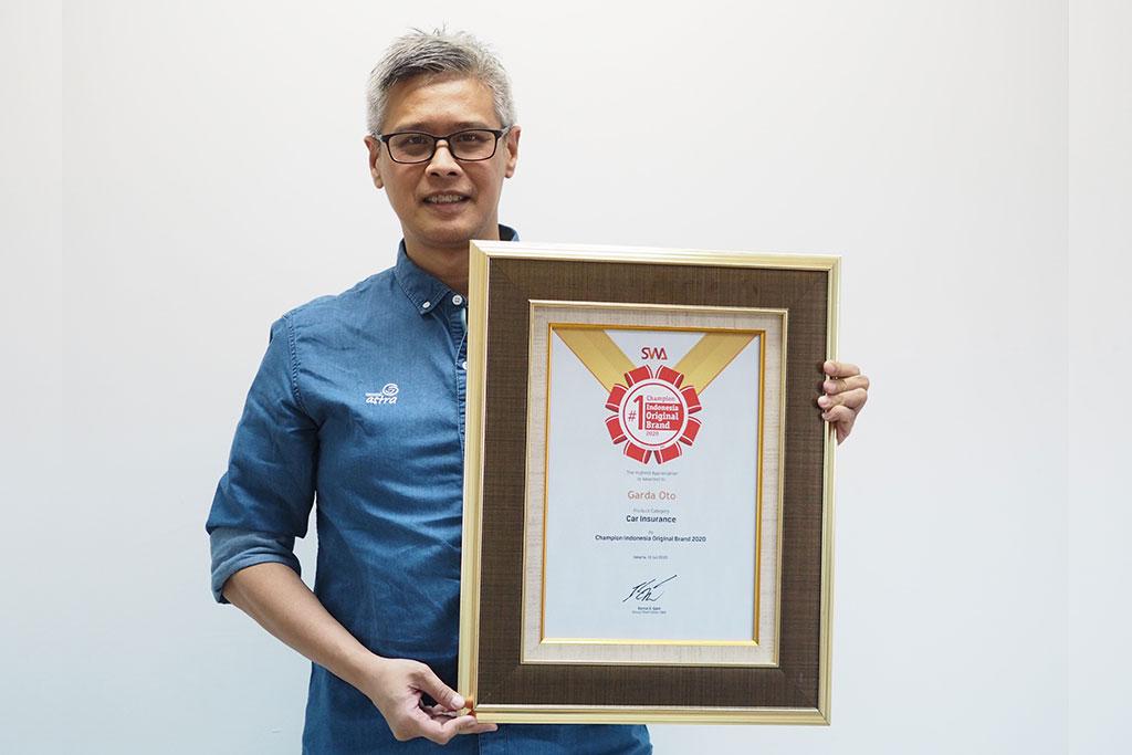 Garda Oto Kembali Raih Indonesia Original Brand Award Enam Kali Berturut-Turut