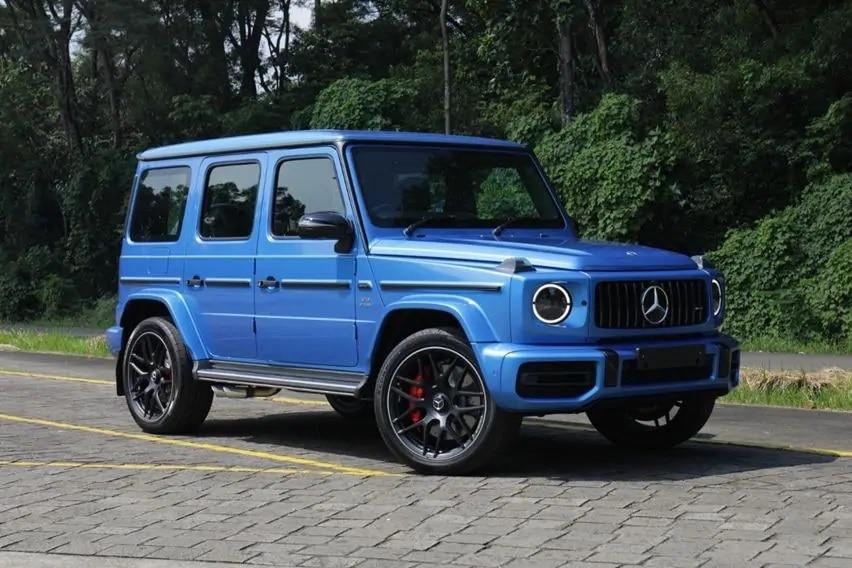 Mercedes-Benz EQG akan Muncul Bulan September, Versi Listrik untuk G-Class?