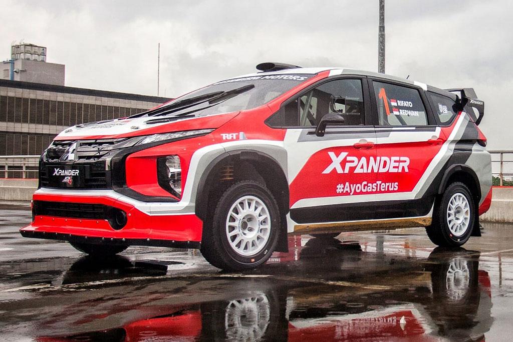 Xpander Rally Team Siap Lakukan Uji Coba Mitsubishi Xpander AP4