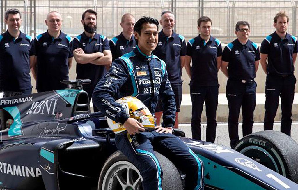 Sudah Pulih Cedera, Sean Gelael Siap Hadapi Dua Seri Terakhir F2 di Bahrain