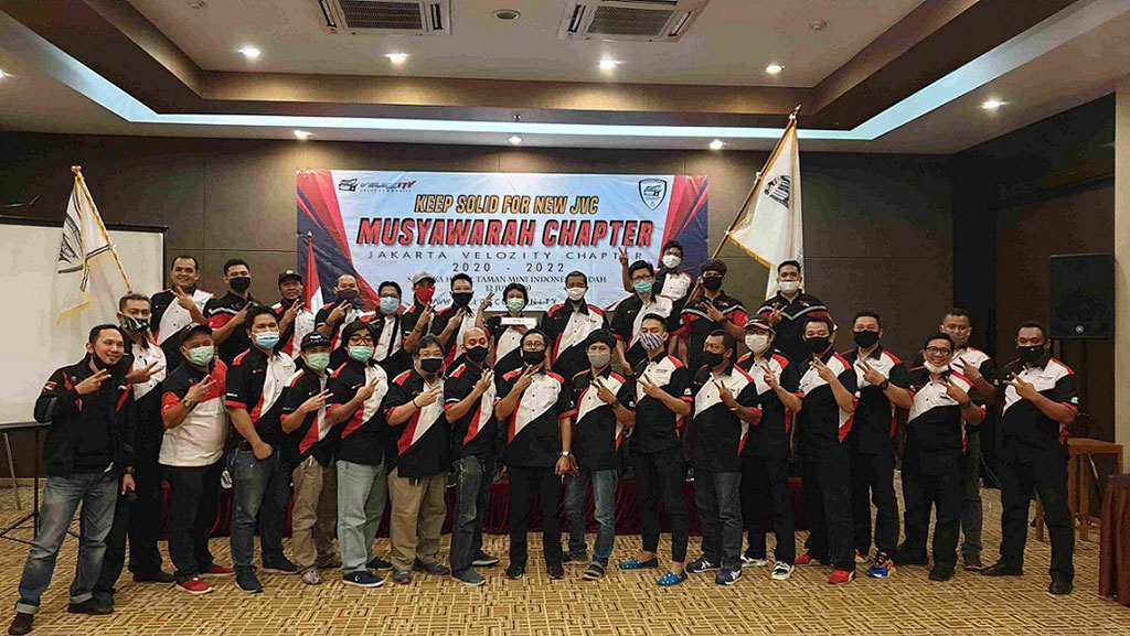 Fannyansyah Ketua Baru Velozity Chapter Jakarta 2020-2022