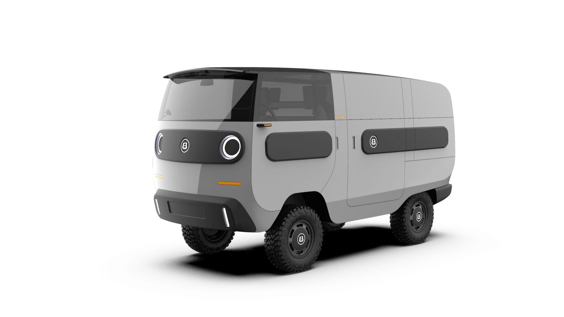 eBussy, Mobil Listrik Dengan Posisi Setir Bisa Dipindah-pindah