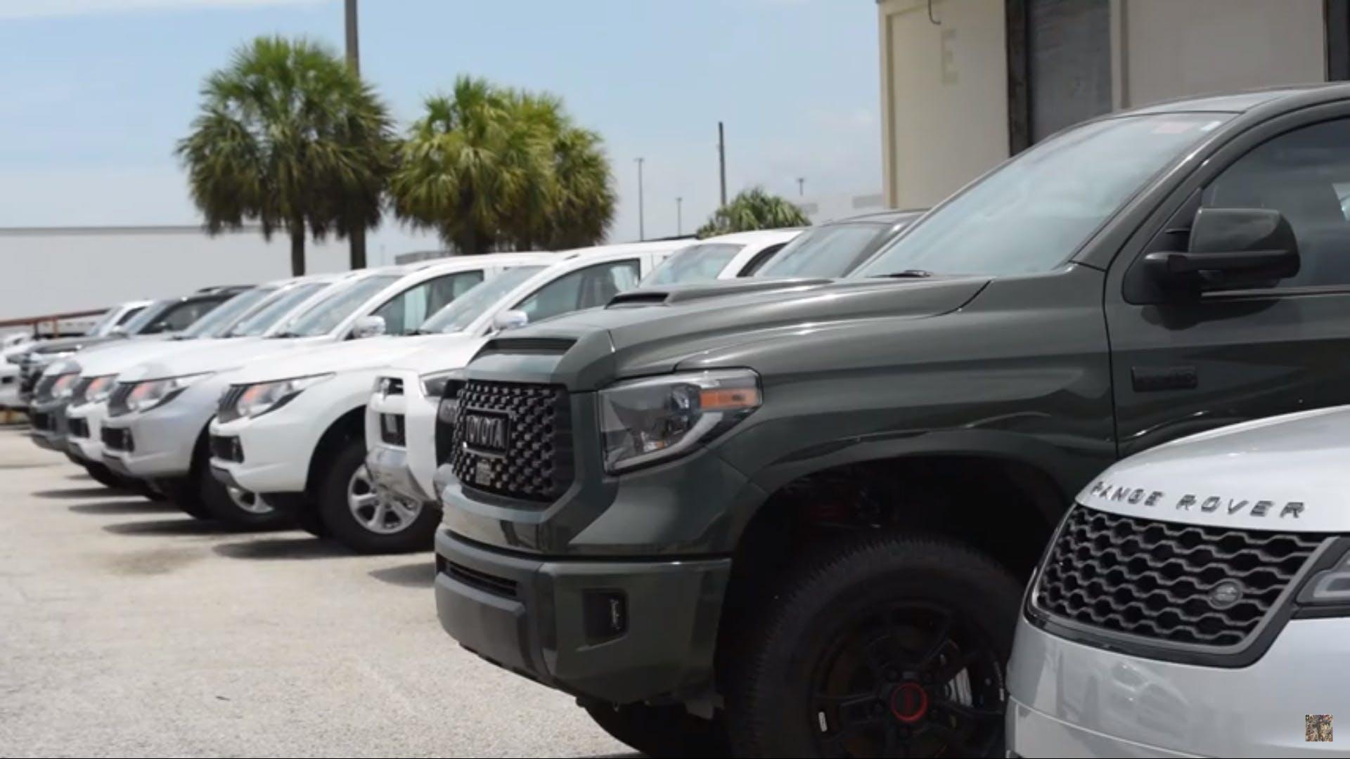 Amerika Nyaris Kecolongan Lebih 80 Mobil Mewah Diselundupkan Carvaganza Com
