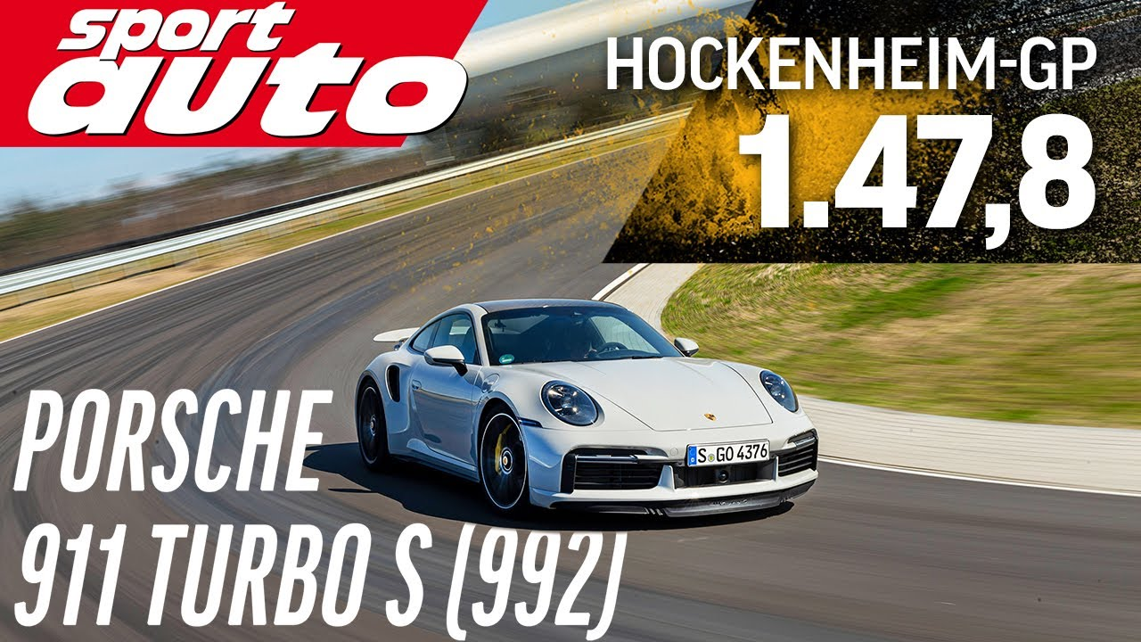 VIDEO: Porsche 911 Turbo S Digeber 1:47,8 di Hockenheim, Sekencang Apa?