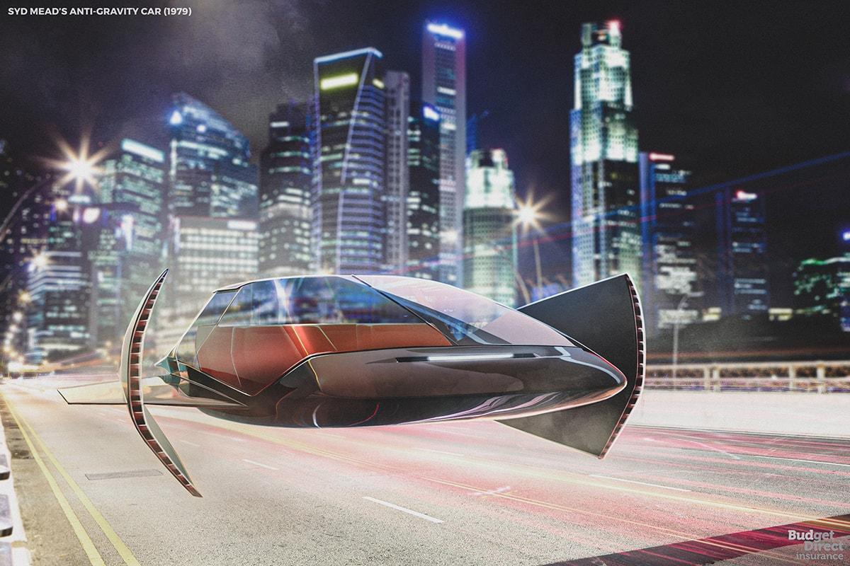 Dari Dulu Kendaraan Futuristik Sudah Diimajinasikan, Begini Ilustrasinya