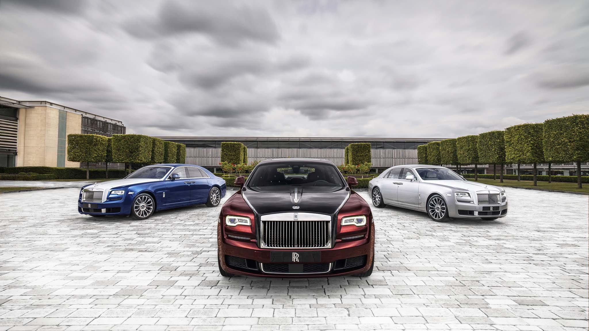 Rolls-Royce Temukan Inovasi Baru Untuk Ghost, Illuminated Fascia
