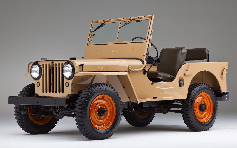 Di Tahun 1945, Willys CJ-2A Jadi Mobil Paling Populer