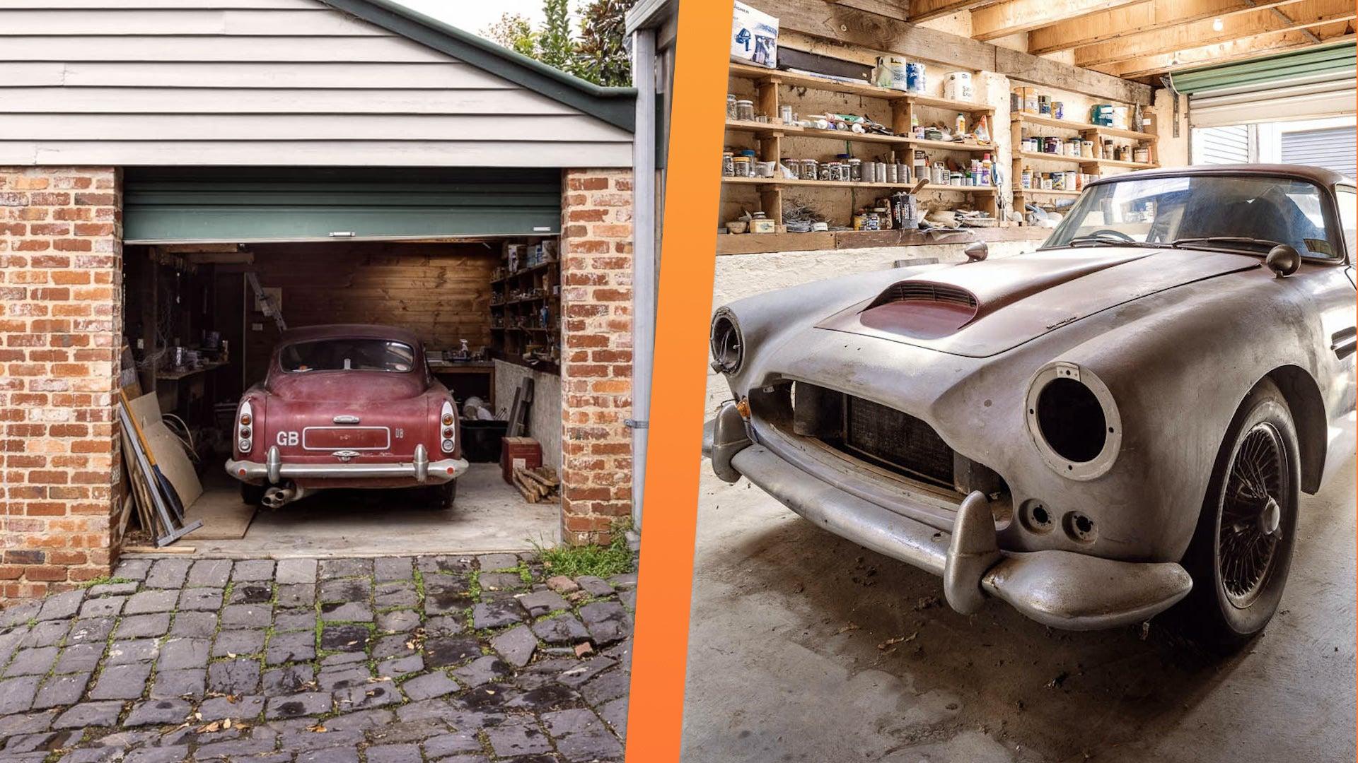Aston Martin Klasik Dijual di Facebook, Punya Kejutan Dahsyat