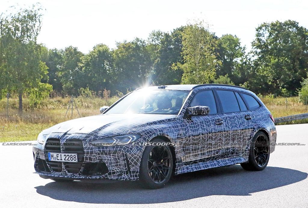 Tampang BMW M3 Wagon Mulai Terkuak, Galak Seperti M4