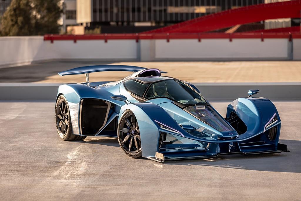 Gabungan F1 dan Jet Tempur, Delage D12 Klaim Sebagai Supercar Hybrid Terkencang di Dunia