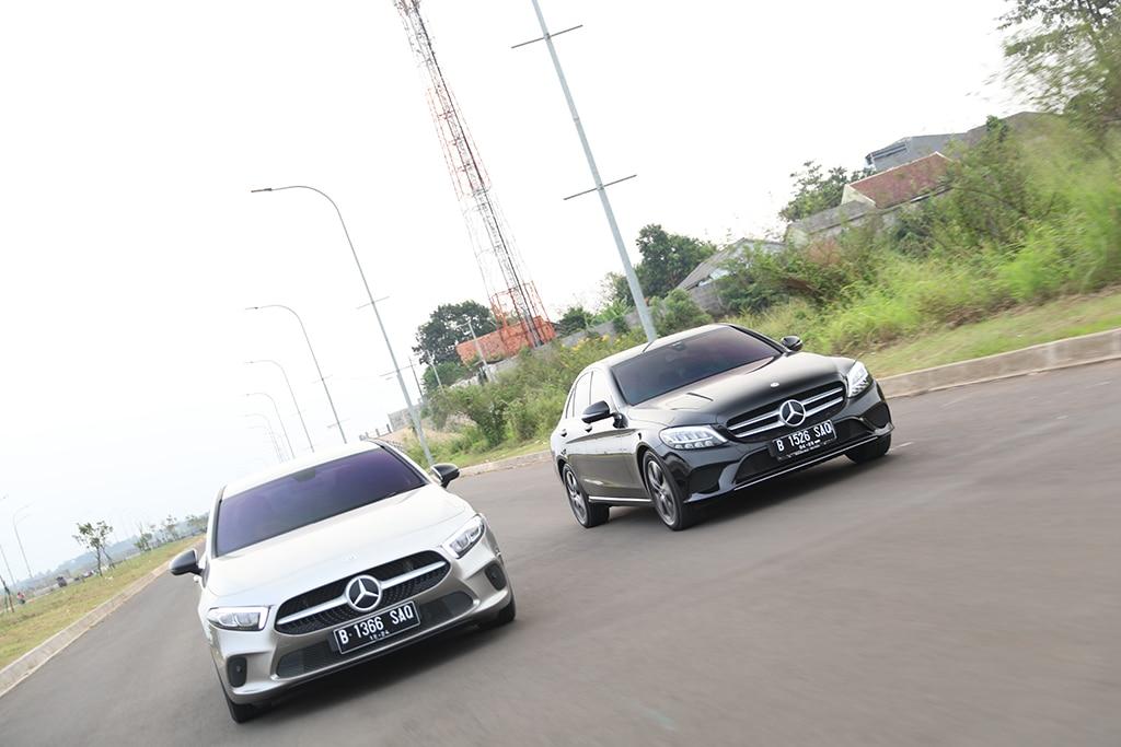 Komparasi 'Baby Benz': Mercedes-Benz C180 vs A200 Sedan (Bag. 1)