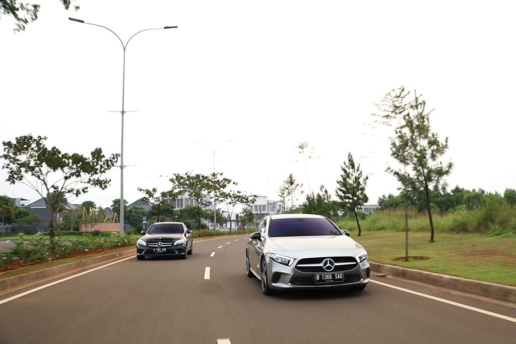 Komparasi 'Baby Benz': Mercedes-Benz C180 vs A200 Sedan (Bag. 2)