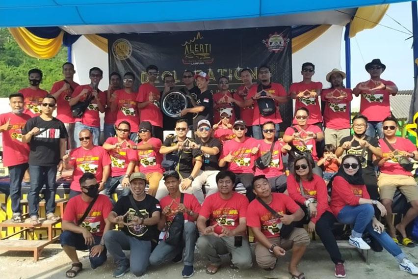 Komunitas Alert! Regional Lampung Deklarasikan Diri