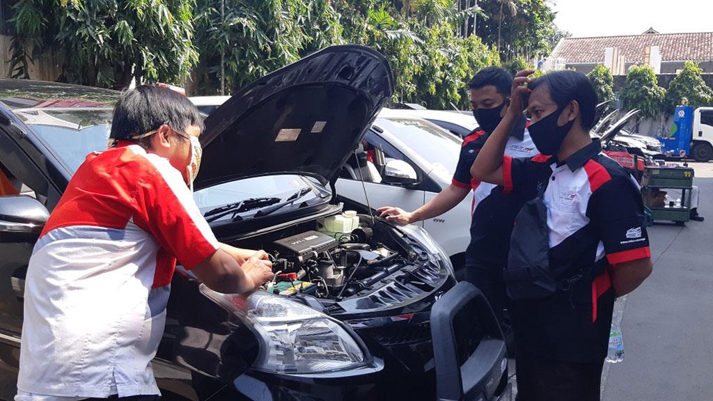 Jaga Kabin dari COVID-19, Jakarta Velozity Chapter Gelar Kopdar Servis Bareng
