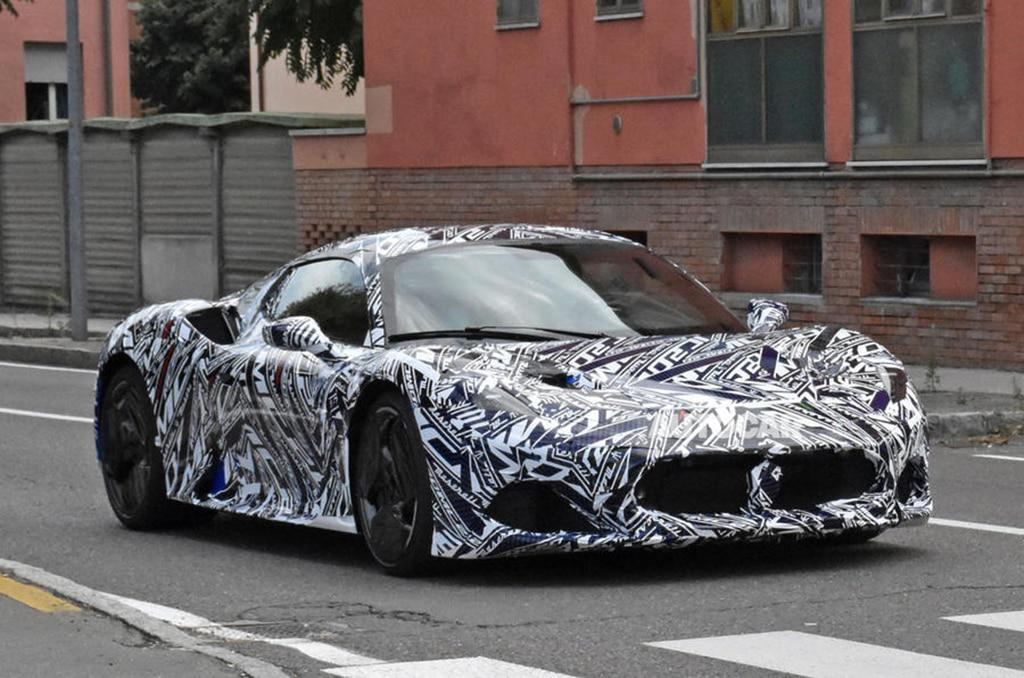 Sosok Maserati MC20 Semakin Jelas, Lebih Ganas dari MC12
