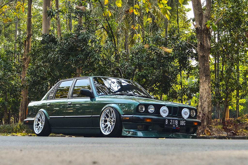 BMW E30 1989 Custom, Modifikasi Suka-Suka a la Marenno