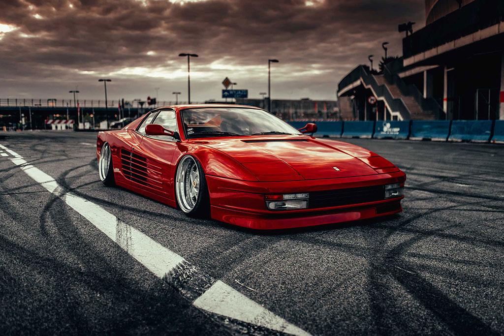 Modifikasi Ferrari Testarossa, Berawal dari Guntingan Poster