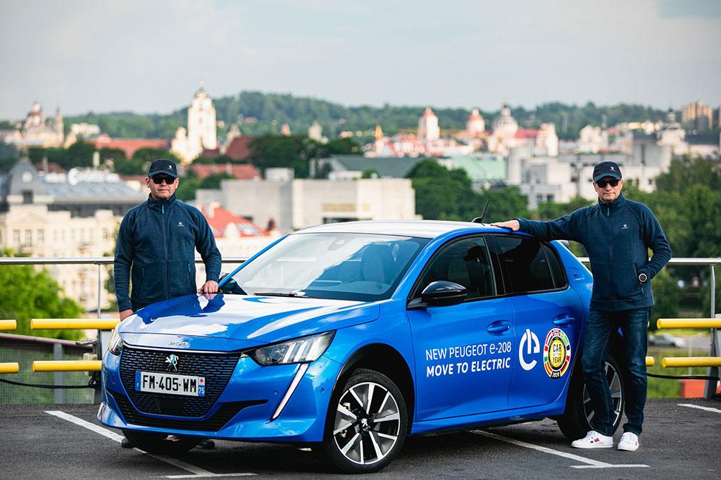 Peugeot e-208 Menang Balap Mobil Listrik di Lithuania