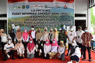 CSR Mitsubishi, Buka Perpustakaan dan Balai Pertemuan di Ternate