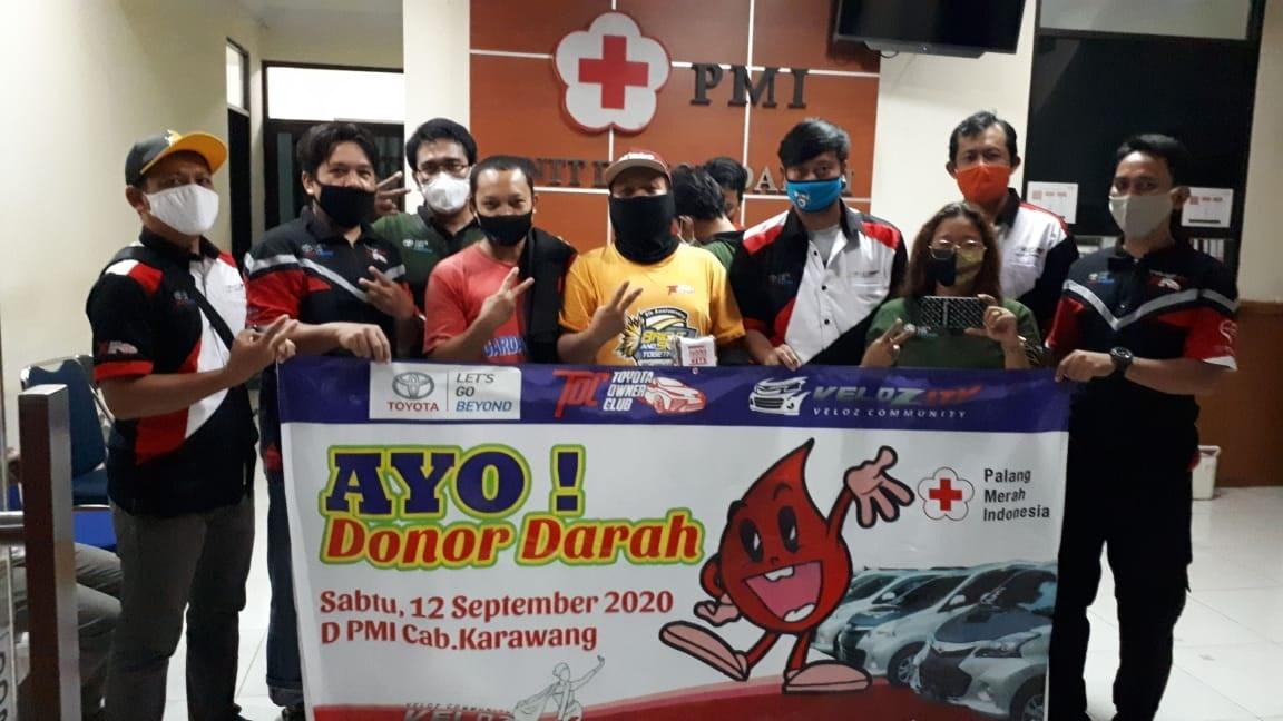 Velozity Chapter V – Kapur Gelar Kopdar Kemanusiaan Donor Darah