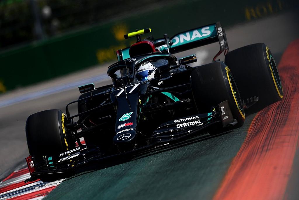 F1: Hamilton Dipenalti, Bottas Menangkan GP Rusia 2020