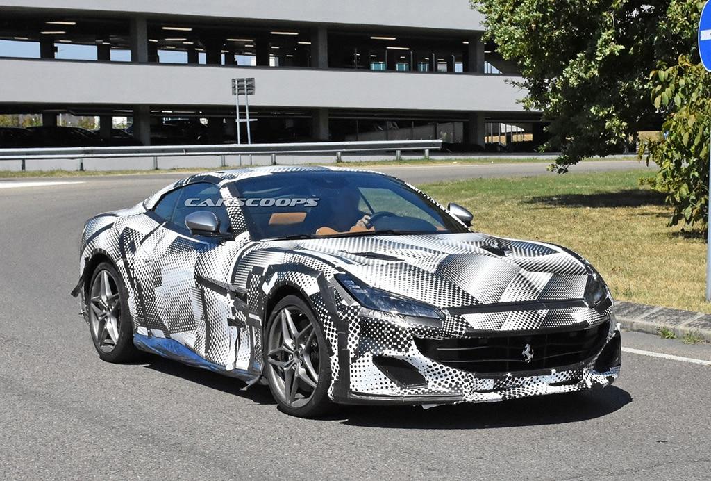 SPYSHOT: Ferrari Portofino Versi Facelift Mulai Berkeliaran