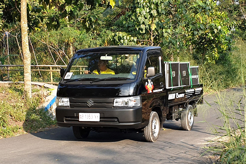 Penjualan November Kian Membaik, Carry Pikap Dominasi Penjualan Suzuki