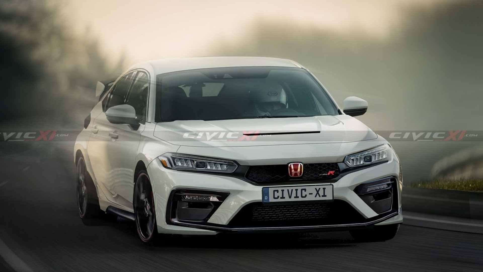 Beredar Render Honda Type R 2022, Tampilannya Sedikit Berubah