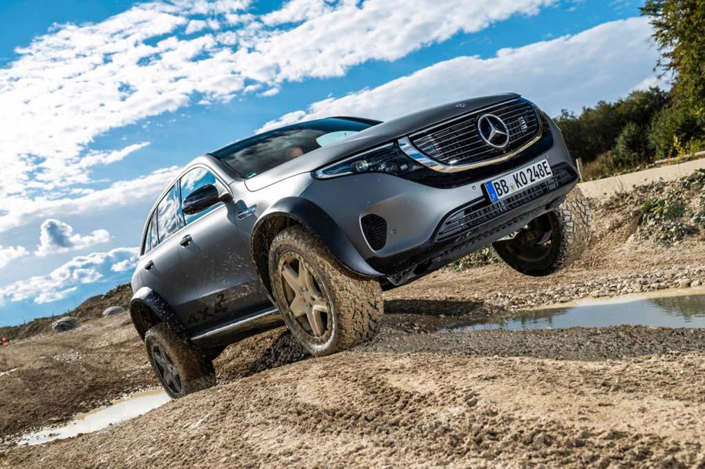 Mercedes-Benz EQC 400 4MATIC, Offroader 4x4 Bertenaga Listrik Yang Sangat Irit!