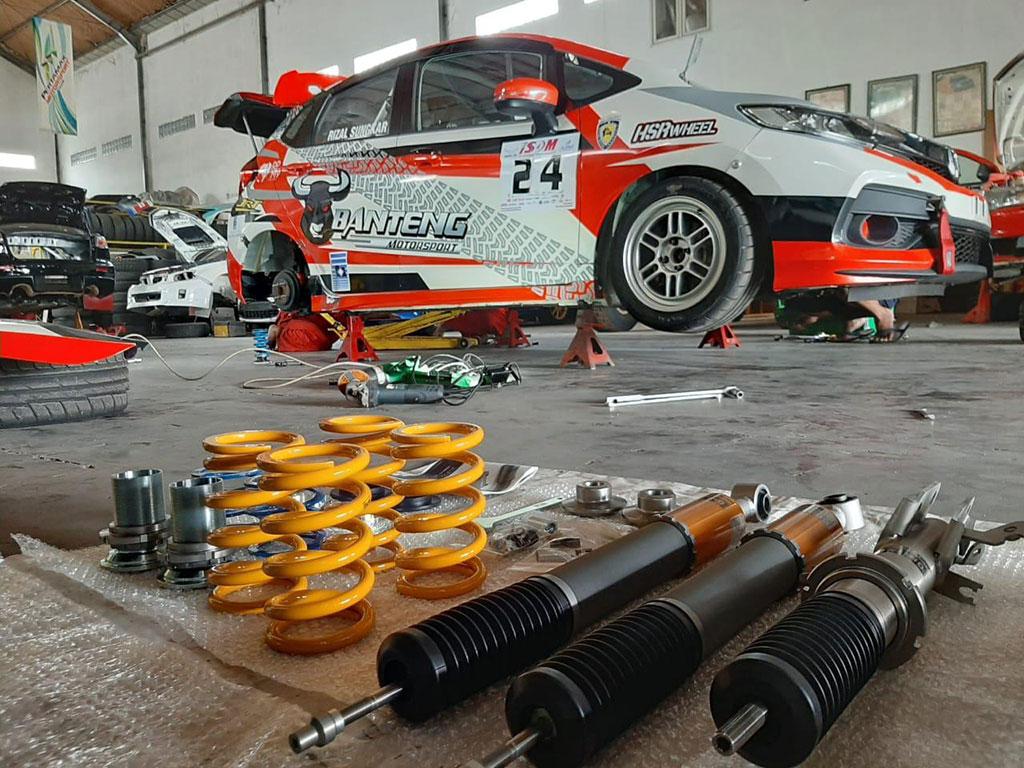 Asik, Shock Mobil Ohlins DFV Sudah Resmi Dijual Ohlins Indonesia