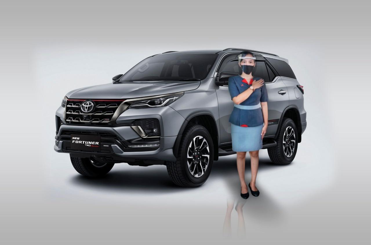 Auto2000 Digiroom Informasikan Simulasi Kredit Toyota New Fortuner dan Innova