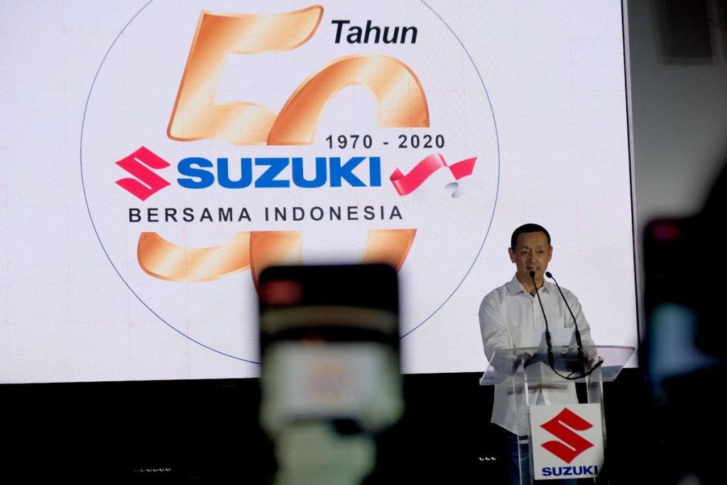50 Tahun Kiprah Suzuki Di Indonesia, dari Cakung Menuju Dunia
