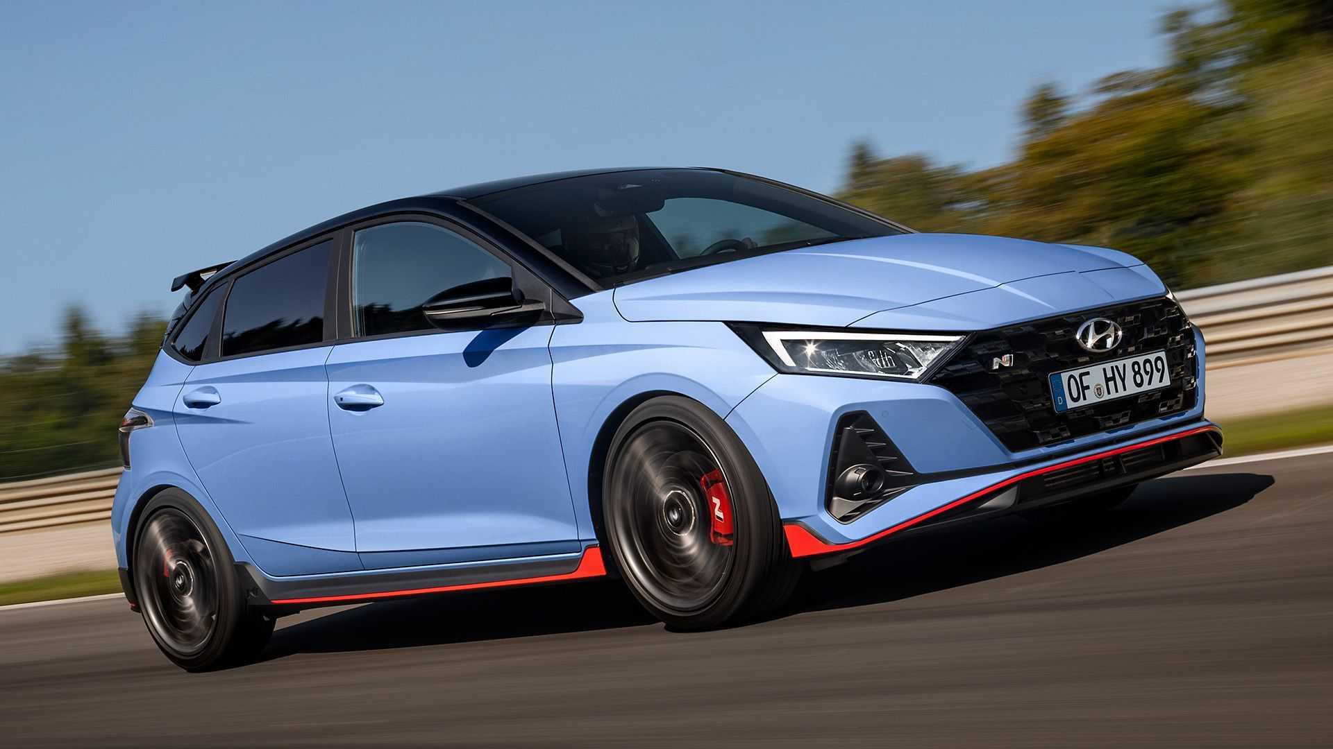 Hyundai i20 N 2021 mendebut, Versi Kencang Hanya Tersedia Girboks Manual