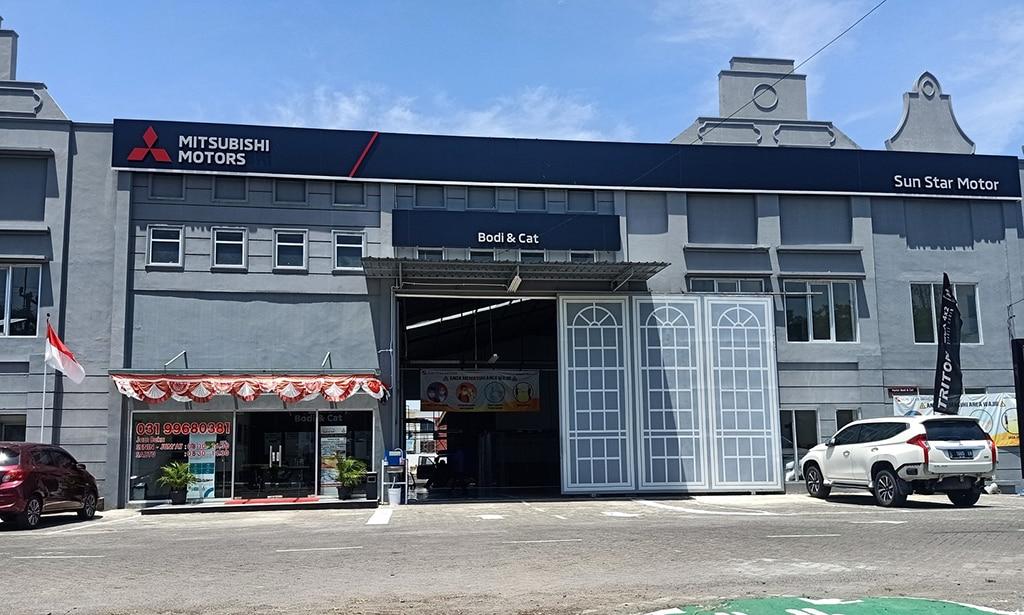 Mitsubishi Buka 2 Dealer Sekaligus di Surabaya, Termasuk Bengkel Bodi & Cat