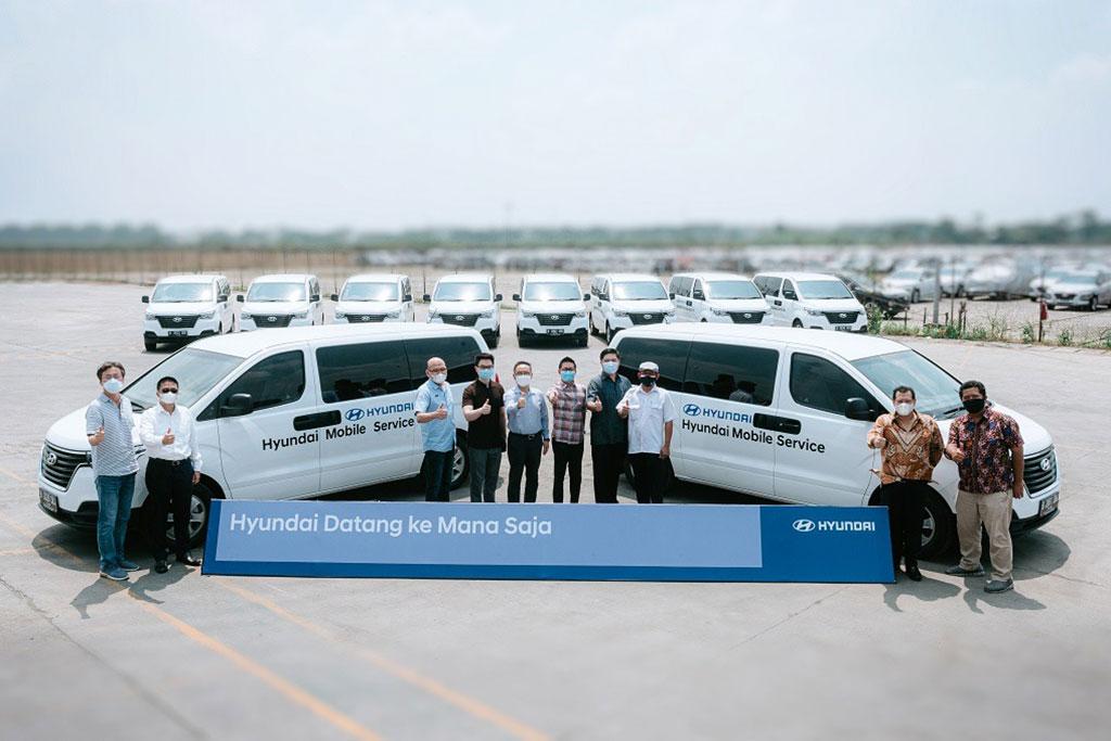 Hyundai Motors Indonesia Resmikan Program Servis Dimana Saja