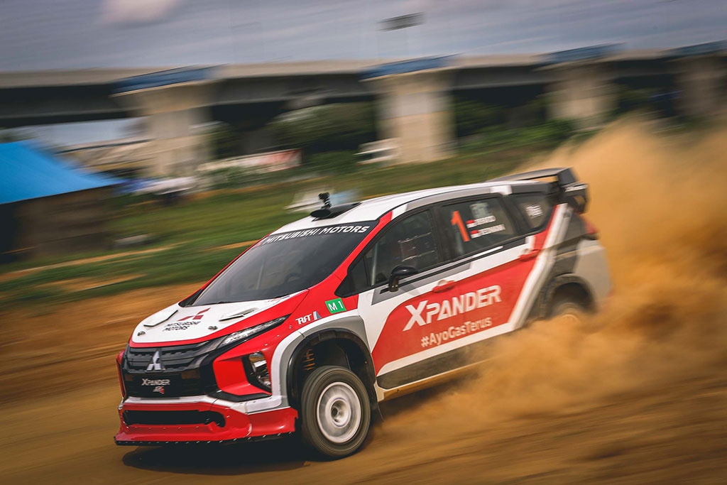 Dominasi 5 SS, Xpander Rally Team Juara Umum di Meikarta Sprint Rally 2020
