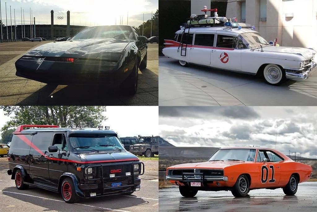 7 Mobil Ikonik di Serial TV Dan Film Era '80-an
