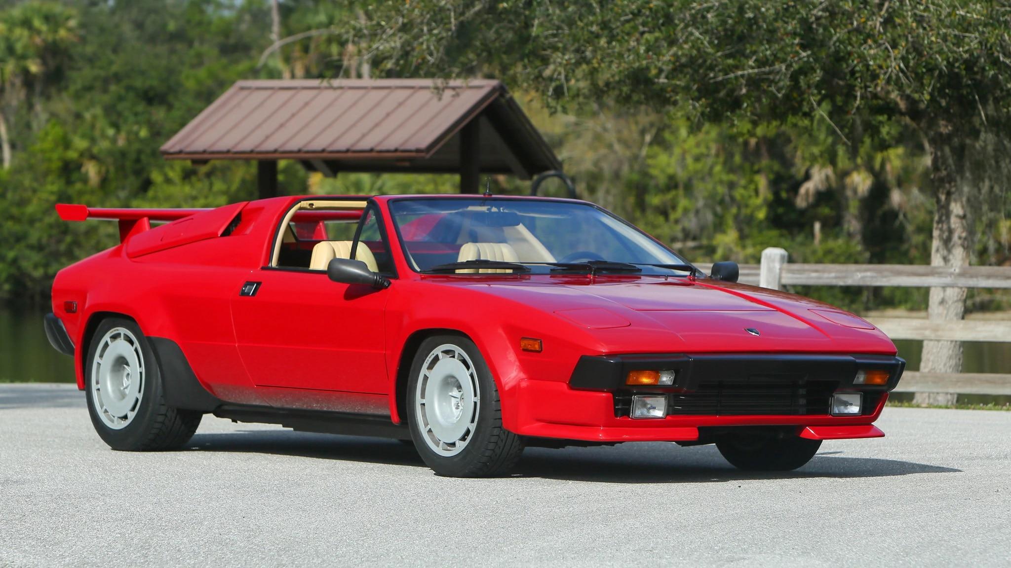 Lamborghini Jalpa, Supercar Terlupakan Dijagat Mobil Klasik