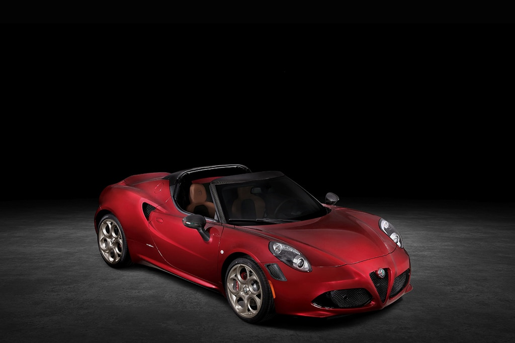 Jelang Suntik Mati, Alfa Romeo 4C Spider Dapat Edisi Perpisahan