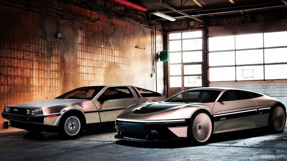 Back To The Future! Inilah DeLorean DMC-12 Versi Abad Ke-21