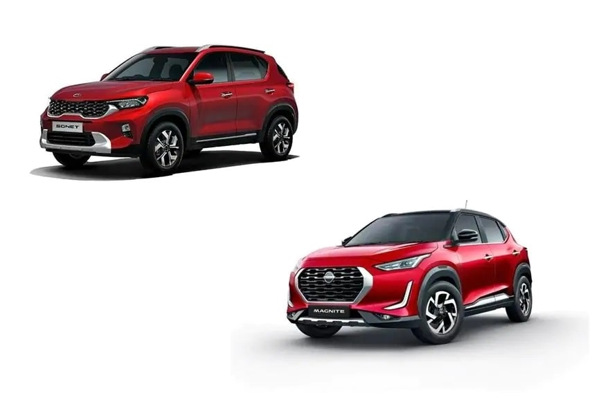 Pilih Kia Sonet Smart atau Nissan Magnite Premium?