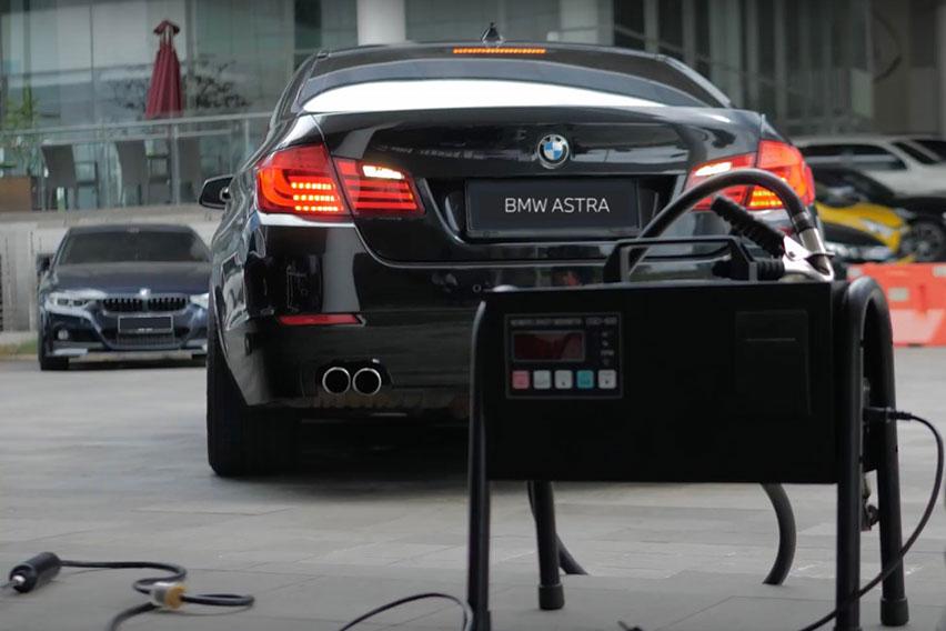 BMW Astra Sediakan Layanan Uji Emisi Kendaraan Bermotor