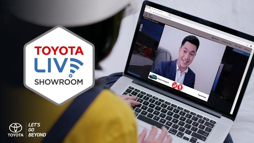 Mau Lihat Dan Beli Toyota, Bisa Manfaatkan Toyota Live Showroom