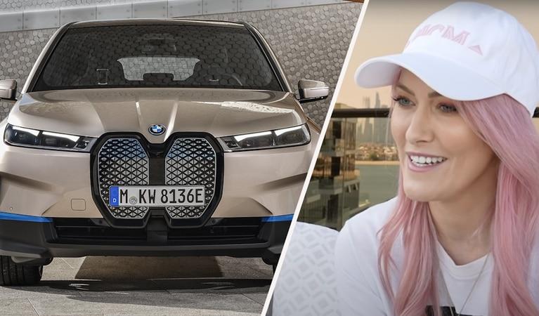 Lihat Keseruan Sistem Pintar Di Mobil BMW Mewawancara Supercar Blondie